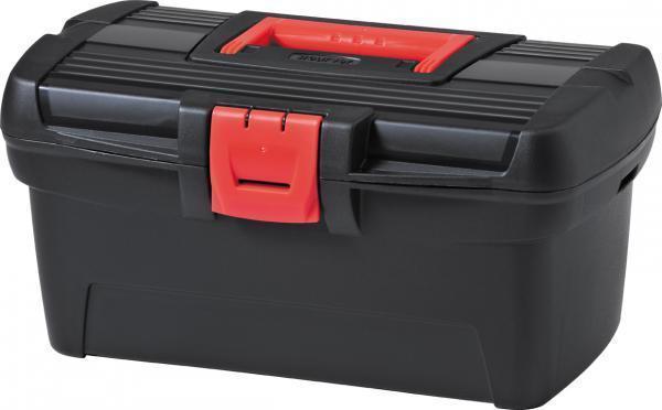 Ящик для инструментов 1398293777Практичный и вместительный ящик для инструментов для удобного хранения мелких элементов. Идеально подходит как для начинающих мастеров, так и для профессионалов. Внутри ящика имеется практичный поднос, позволяющий эффективно упорядочить все вещи. Прекрасно подойдет для каждого дома, гаража или мастерской. Емкость Herobox оснащена специальными держателями для крепления ремня, облегчающего перенос. Прочная же конструкция и надежный замок обеспечивают безопасное хранение инструментов. Черная поверхность ящика сочетается с элементами красного цвета.