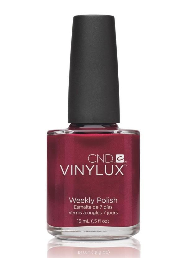 CND Винилюкс Профессиональный недельный лак VINYLUX, #139 Red Baroness, 15 мл 9902