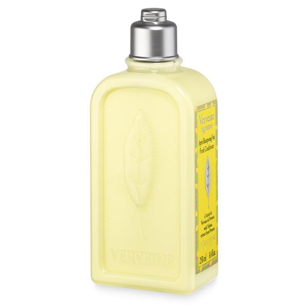 LOccitane Бальзам-ополаскиватель для частого применения Вербена 250мл348154Обогащенный органическим экстрактом вербены, очищающим эфирным маслом лимона и смягчающей цветочной водой липы, кондиционер восстанавливает мягкость, блеск и жизненность волос. Комплекс растительных экстрактов питает и смягчает волосы. Волосы выглядят здоровыми и легко расчесываются.