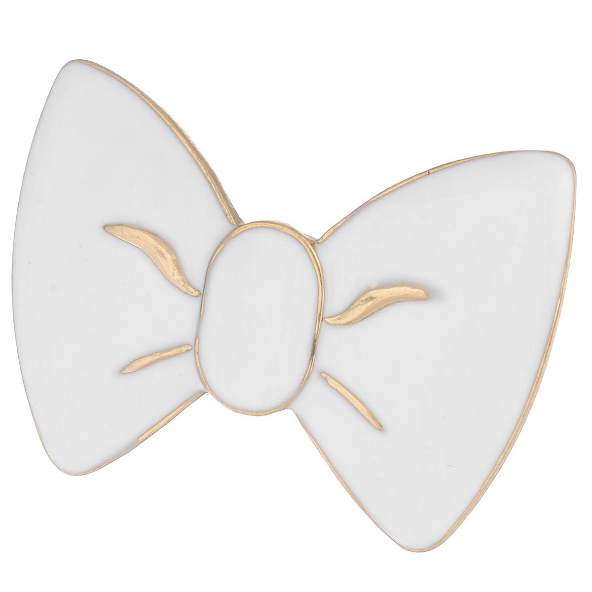 Кольцо Avgad, цвет: золотистый, белый. EA178JW162EA178JW162Оригинальное кольцо Avgad выполненное из ювелирного сплава и эмали в виде бантика. Элементы кольца соединены с помощью тонкой резинки, благодаря этому оно легко одевается и снимается. Размер универсальный. Кольцо позволит вам с легкостью воплотить самую смелую фантазию и создать собственный, неповторимый образ.