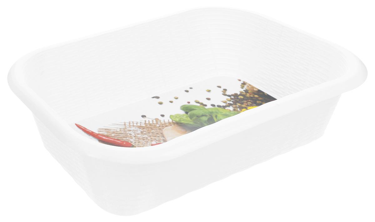 Корзина универсальная Phibo Перец, цвет: белый, красный, зеленый, 34,2 х 22 х 8,7 смС12810_белый/перецУниверсальная корзина Phibo Перец изготовлена из высококачественного пластика и предназначена для хранения продуктов, овощей и многого другого. Дно изделия декорировано ярким изображением винограда. Элегантный, выдержанный дизайн позволяет органично вписаться в ваш интерьер и стать его элементом. Размер корзины (по верхнему краю): 34,2 см х 22 см. Высота корзины: 8,7 см.