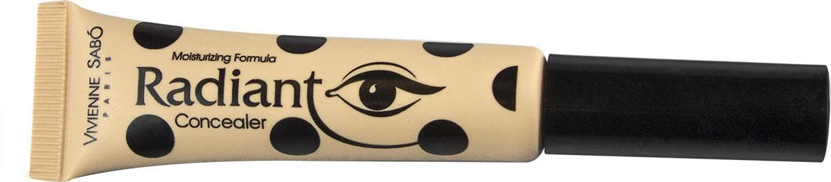 Vivienne Sabo Консилер для глаз Radiant, тон 03, 8 мл002722В консилере Radiant есть все лучшее, что дает современная косметология: очень нежная и при этом плотная, отлично маскирующая текстура, мягкая кисточка, не раздражающая кожу под глазами. Это практически профессиональный продукт, пригодный как для фотосессии, так и на каждый день.