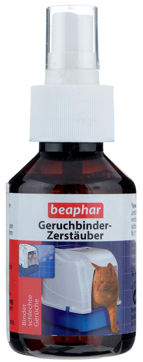 Спрей-дезодорант для кошачьих туалетов Beaphar Geruchbinder-Zerstauber, 100 мл5350Спрей-дезодорант Beaphar Geruchbinder-Zerstauber нейтрализует неприятный запах и дезинфицирует кошачий туалет. Может использоваться для обработки клеток грызунов.