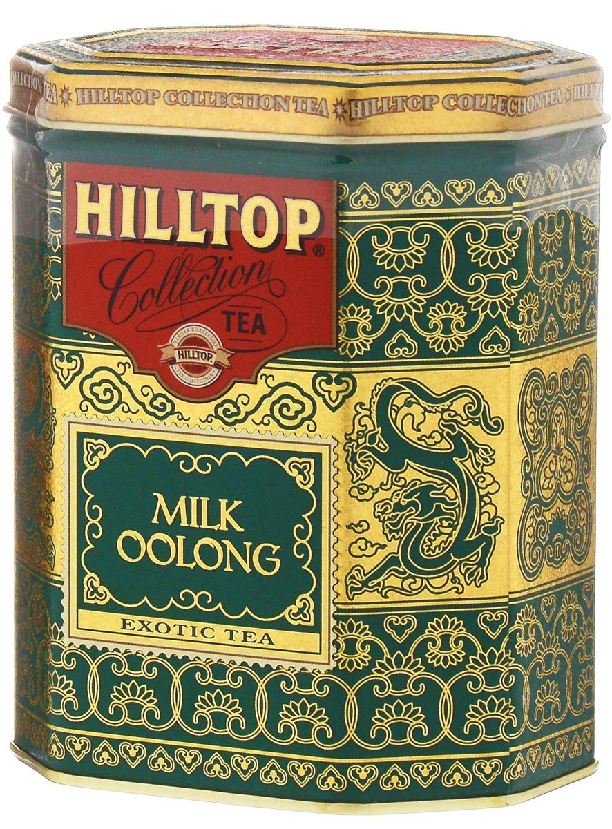 Hilltop Milk Oolong улун листовой чай, 100 г4607099301573Знаменитый китайский полуферментированный чай Hilltop Milk Oolong с нежным ароматом свежих сливок.