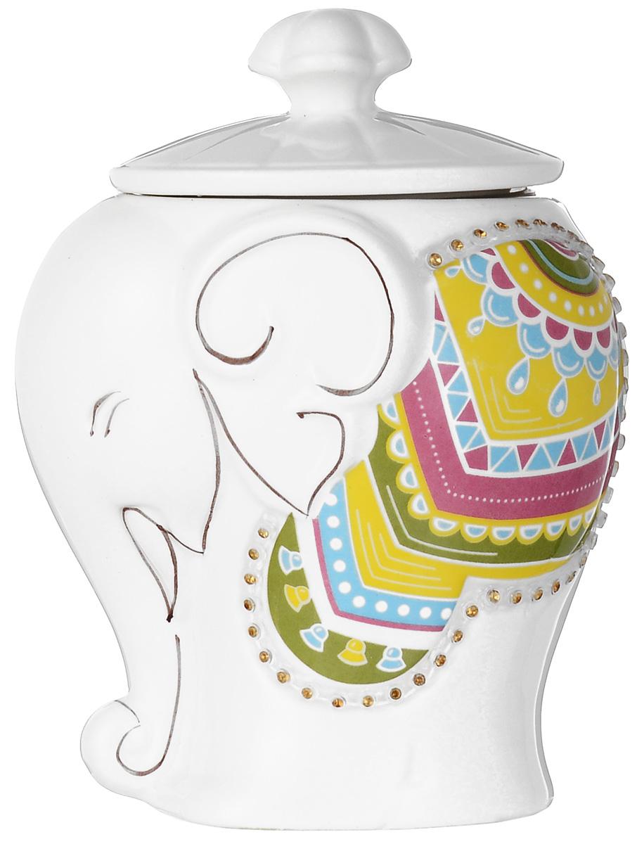 Hilltop Подарок Цейлона черный листовой чай в чайнице Слоник, 50 г0120710Hilltop Подарок Цейлона - крупнолистовой цейлонский черный чай с глубоким насыщенным вкусом и изумительным ароматом. Помимо великолепного чая, в комплекте вы найдете керамическую чайницу Слоник.