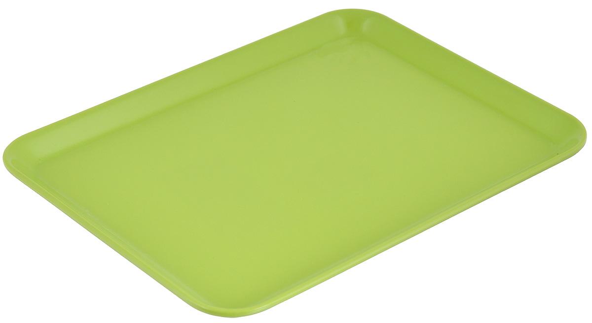 Поднос Zeller, цвет: салатовый, 24 х 18 см26692_салатовыйОригинальный поднос Zeller, изготовленный из пластика, станет незаменимым предметом для сервировки стола. Поднос не только дополнит интерьер вашей кухни, но и предохранит поверхность стола от грязи и перегрева. Яркий и стильный поднос Zeller придется по вкусу и ценителям классики, и тем, кто предпочитает современный стиль.