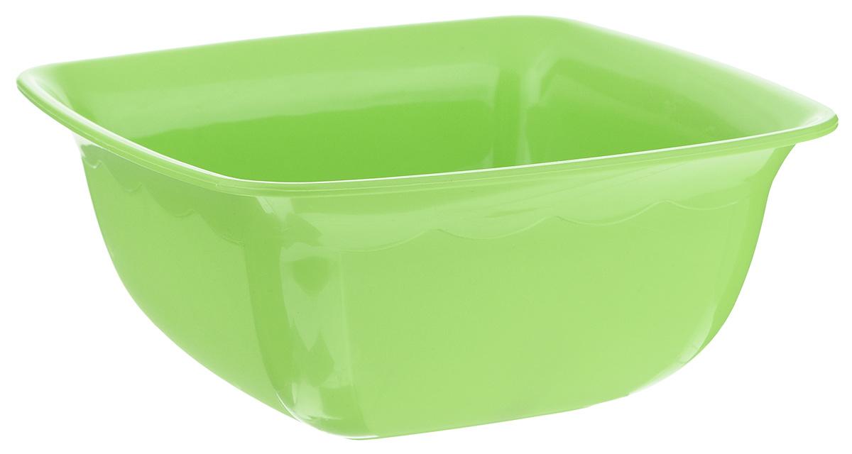 Миска Dunya Plastik, квадратная, цвет: салатовый, 1,7 л10173_салатовыйМиска Dunya Plastik изготовлена из пищевого пластика квадратной формы. Внешние стенки миски матовые, внутренние глянцевые. Изделие очень функциональное, оно пригодится на кухне для самых разнообразных нужд: в качестве салатника, миски, тарелки. Можно мыть в посудомоечной машине. Размер миски (по верхнему краю): 19,5 х 19,5 см.