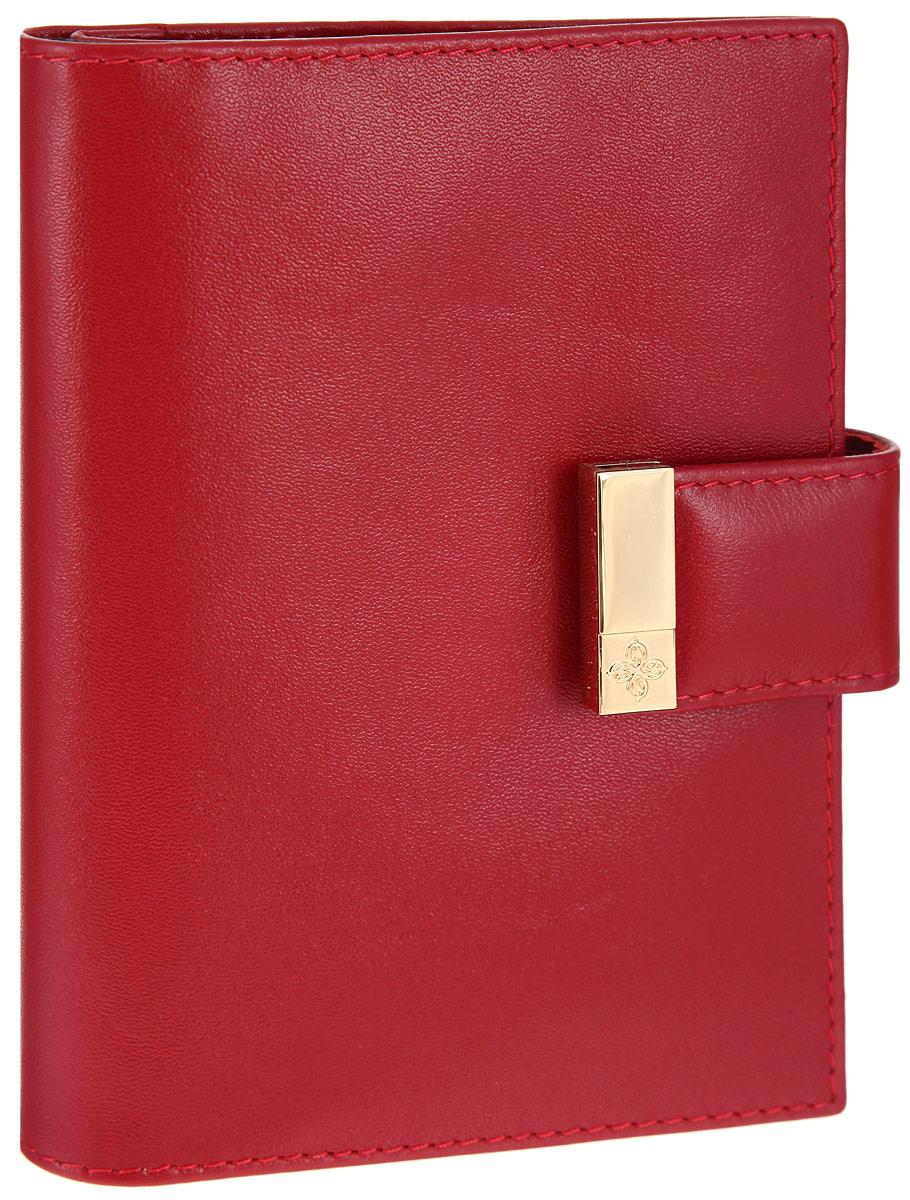 Бумажник водителя женский Dimanche Elite Алый, с отделением для паспорта, цвет: красный. 041041Бумажник водителя Dimanche женская коллекция Elite Алый изготовлен из натуральной кожи. Бумажник закрывается при помощи хлястика на кнопку. Внутри содержится съемный блок из пяти прозрачных пластиковых файлов разного размера для автодокументов, четыре прорези для визиток, карман для sim карты, специальное отделение для паспорта и дополнительный вертикальный карман. Стильный бумажник не только защитит ваши документы, но и станет стильным аксессуаром, подчеркивающим ваш образ. Изделие упаковано в подарочную коробку с логотипом фирмы Dimanche.