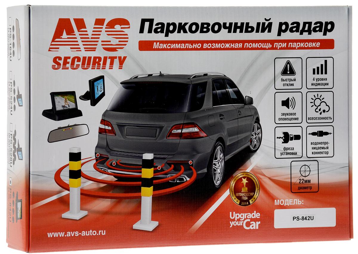 Парктроник AVS PS-842UA78018SПарктроник AVS PS-842 поможет избежать досадных мелких аварий и следующих за ними материальных затрат. Датчики парковки помогут вам обнаружить опасное препятствие, невидимое из салона автомобиля, а зеркало предупредит вас заблаговременно о возможном столкновении. Система сканирует пространство пространство спереди и сзади автомобиля с помощью ультразвуковых волн и анализирует полученную информацию, что дает представление о препятствиях в радиусе 2,5 метра от вашего автомобиля. Система самодиагностики сообщит вам о готовности устройства к работе, а всепогодные ультразвуковые датчики обеспечат уверенную парковку в любых условиях. В комплект входит фреза для установки датчиков. Водонепроницаемый коннектор значительно упрощает установку и замену датчиков парковочной системы. Технические характеристики: Рабочее напряжение: 12В. Диаметр датчика: 22 мм. Ультразвуковая частота: 40 кГц. Дистанция детектирования: 2,5 м. Громкость...