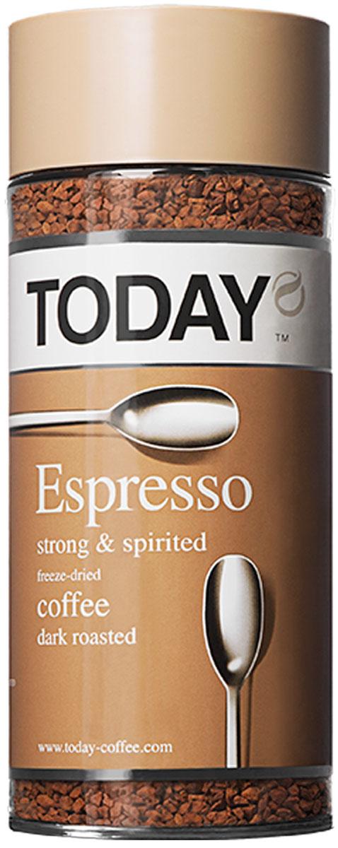 Today Espresso кофе растворимый, 95 г 5014776102047