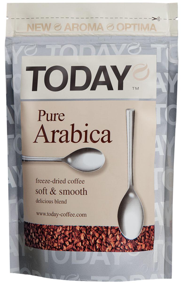 Today Pure Arabica кофе растворимый, 150 г 5060300570073