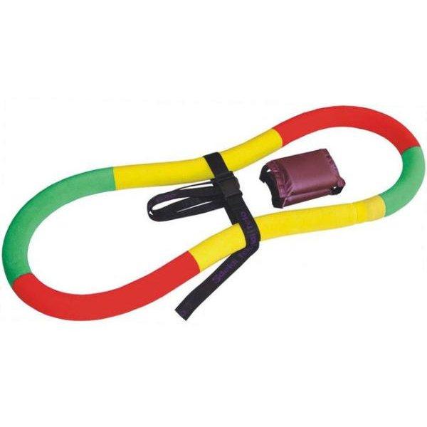 Обруч-тренажер Спорт-21 Сделай тело, цвет: мультиколор, диаметр 90 см4156764Обруч-тренажер Спорт-21 Сделай тело- это упругий эластичный обруч, изготовленный из двухслойного армированного эластичного каучука. Тренажер можно крутить как обычный хула-хуп или выполнять различные гимнастические упражнения. Обруч развивает координацию движений, гибкость, силу, чувство ритма, артистичность, укрепляет вестибулярный аппарат. Сжигает лишние килограммы в проблемных участках тела, улучшает состояние кожи в области талии, живота и бедер. Нормализует работу кишечника. Тренирует и развивает мышцы рук, плеч, спины, ног, живота. Удобен и прост в использовании.Вид: гимнастический, утяжеленный.Тип: неразборный.Диаметр внешний: 90 см.Сечение: 7 см.Толщина: 8-9 см.Покрытие: трикотаж.Наполнитель: песчаная смесь.В комплекте: ремень, буклет с иллюстрацией упражнений.Вес: 2,5 кг.Уважаемые клиенты!Обращаем ваше внимание на то, что сочетания цветов могут меняться. Поставка осуществляется в зависимости от наличия на складе.