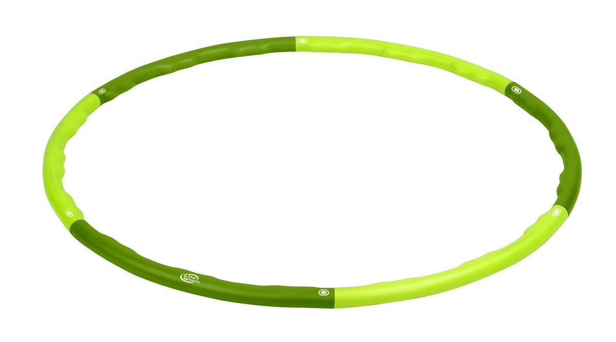 Обруч гимнастический массажный Lite Weights, цвет: салатовый, болотный, 100,5 см1843LWГимнастический массажный обруч Lite Weights применяется для коррекции фигуры в области талии, тренировки брюшных мышц, улучшения работы дыхательной и сердечно-сосудистой систем, повышая общий тонус организма. Развивает координацию движений, гибкость, укрепляет вестибулярный аппарат, мышцы рук, плеч, спины и ног. Нормализует работу кишечника. Имеет массажную поверхность, что дополнительно стимулирует проблемные зоны при тренировках. Преимущества обруча модели 1843LW: - мягкий внешний слой, выполненный из вспененного полипропилена, защищает тело от ушибов и придает дополнительный комфорт при тренировках; - прочный каркас, благодаря внутреннему стальному стержню; - наличие внутренней массажной поверхности, обеспечивающей массаж в области талии и, тем самым, способствующей скорейшему сжиганию лишних килограммов; - простой механизм сборки/разборки обруча и удобство в хранении. Диаметр внешний: 100,5 см. Диаметр внутренний: 93 см. ...
