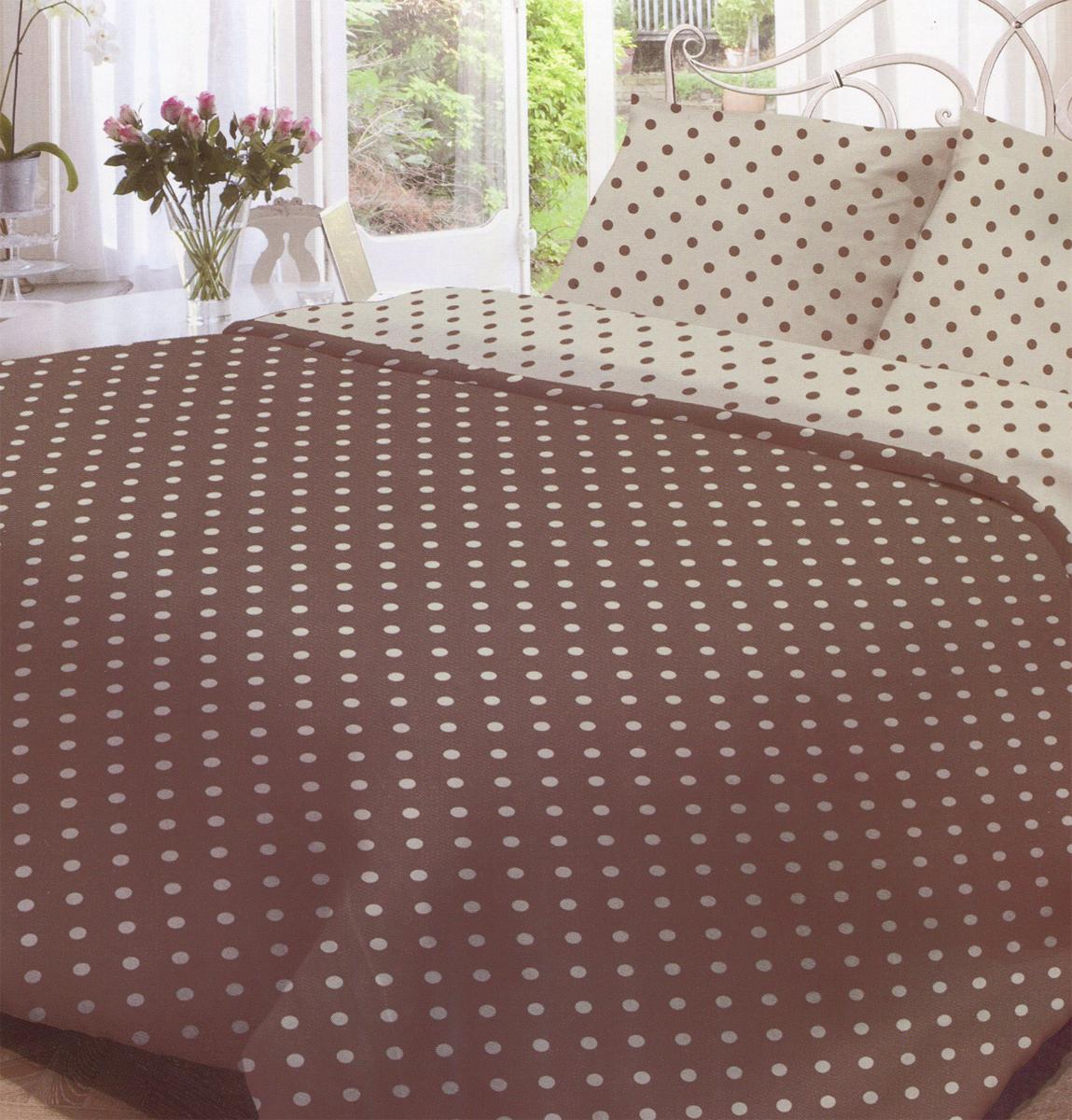 Комплект белья Нежность Мадлена, 1,5-спальный, наволочки 70x70, цвет: серый, коричневый191282Комплект белья Нежность Мадлена, изготовленный из бязи (100% хлопка), состоит из пододеяльника, простыни и двух наволочек. Бязевое постельное белье имеет самое простое полотняное переплетение из достаточно толстых, но мягких нитей. Стоит постельное белье из этой ткани не намного дороже поликоттона или полиэфира, но приятней на ощупь и лучше пропускает воздух. Благодаря современным технологиям окраски, белье не теряет свой цвет даже после множества стирок. Рекомендации по уходу: - Стирка при температуре не более 60°С, - Не отбеливать, - Можно гладить, - Химчистка запрещена.