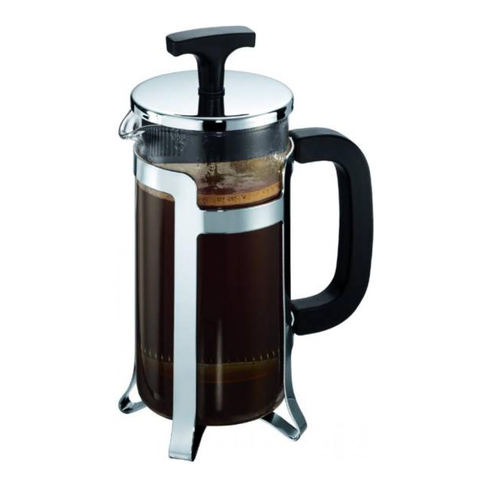 Кофейник с прессом Jesper 0.35л, арт. 10414-1610414-16Материал: коррозионностойкая сталь, пластик, стекло