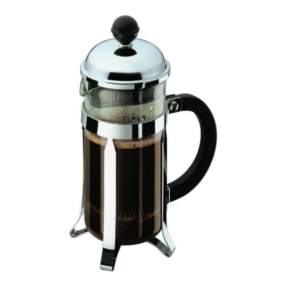 Кофейник с прессом Chambord 0.35л черный, арт. 1923-16VT-1520(SR)Материал: коррозионностойкая сталь, пластик, стекло