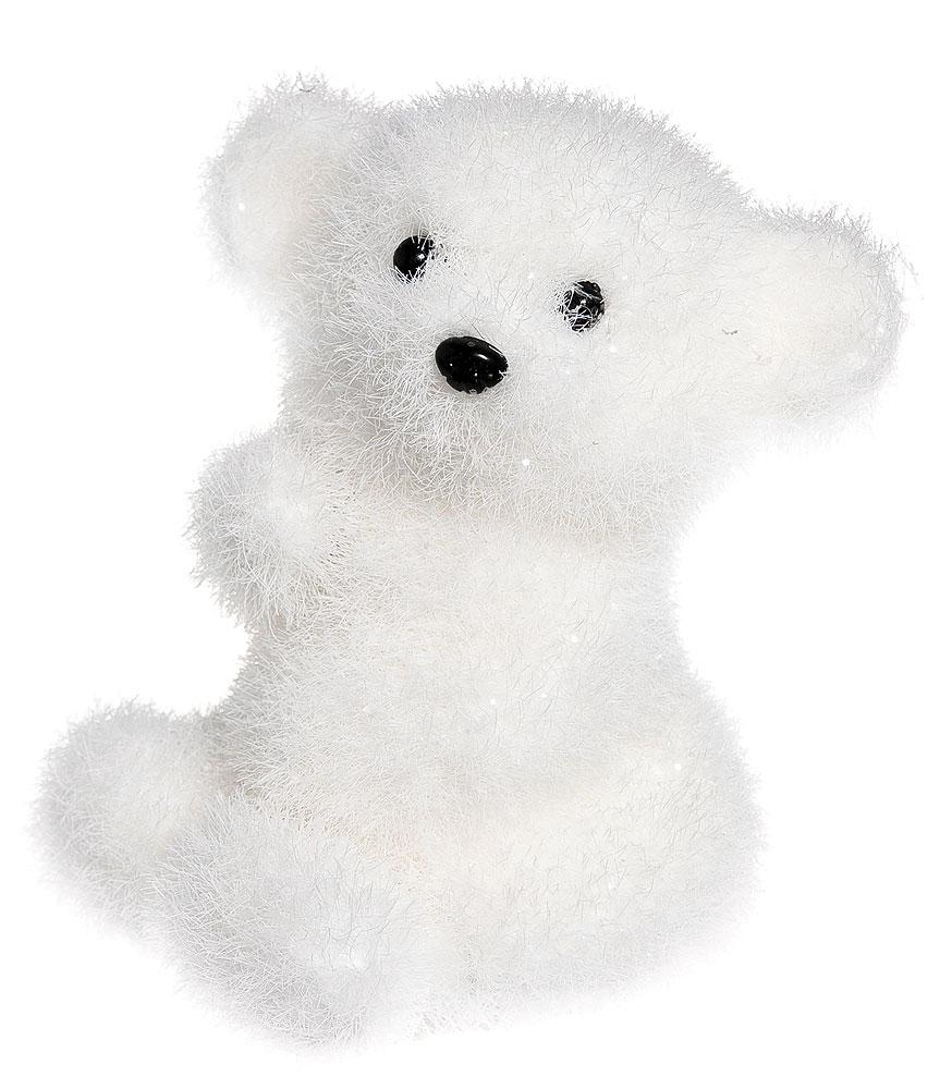 Новогодняя декоративная фигура Its a Happy Day Ушастый медвежонок, высота 15 смNLED-405-0.5W-MНовогодняя декоративная фигура Its a Happy Day Ушастый медвежонок выполнена из пенопласта, искусственного волокна и пластика в виде забавного медвежонка. Такая оригинальная фигура подойдет для оформления новогоднего интерьера и принесет с собой атмосферу радости и веселья, а также станет замечательным подарком для друзей и близких. Высота: 15 см.Материал: пенопласт, искусственное волокно, пластик.