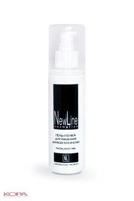 New Line Гель-пенка для умывания для всех типов кожи,150мл21302Предназначена для демакияжа и очищения кожи. Эффективно и бережно устраняет загрязнения и излишнюю сальность, не повреждая естественный защитный слой кожи.Хорошо снимает все виды макияжа.