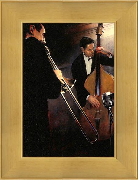 Секция ритма (Sullivan Miles), 17 х 22 см17x22 D3420-41415Художественная репродукция картины Sullivan Miles Rhythm Section. Размер постера: 17 см х 22 см Артикул: 17x22 D3420-41415.