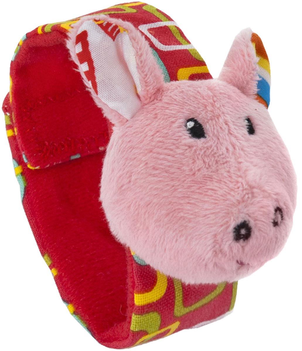 Мир детства Мягкая игрушка-погремушка Акробат Хрюнтик