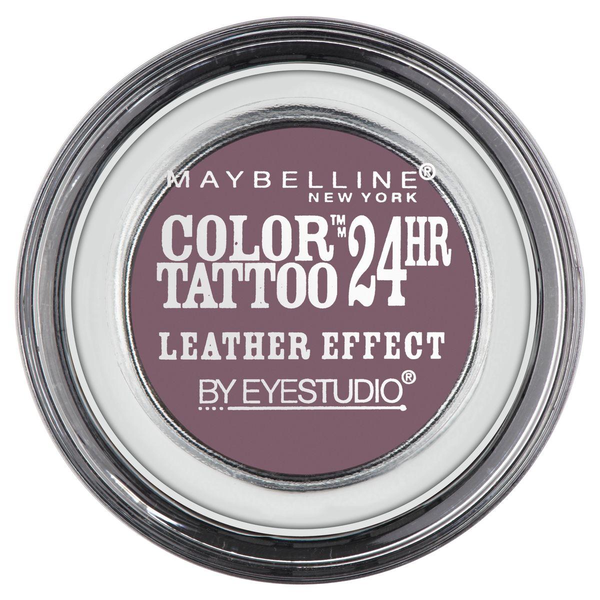 Maybelline New York Тени для век Color Tattoo, оттенок 97, Сливовый десерт, 4 мл28420_красныйТехнология тату-пигментов создает яркий, супернасыщенный цвет. Крем-гелевая текстура обеспечивает ультралегкое нанесение и стойкость на 24 часа.
