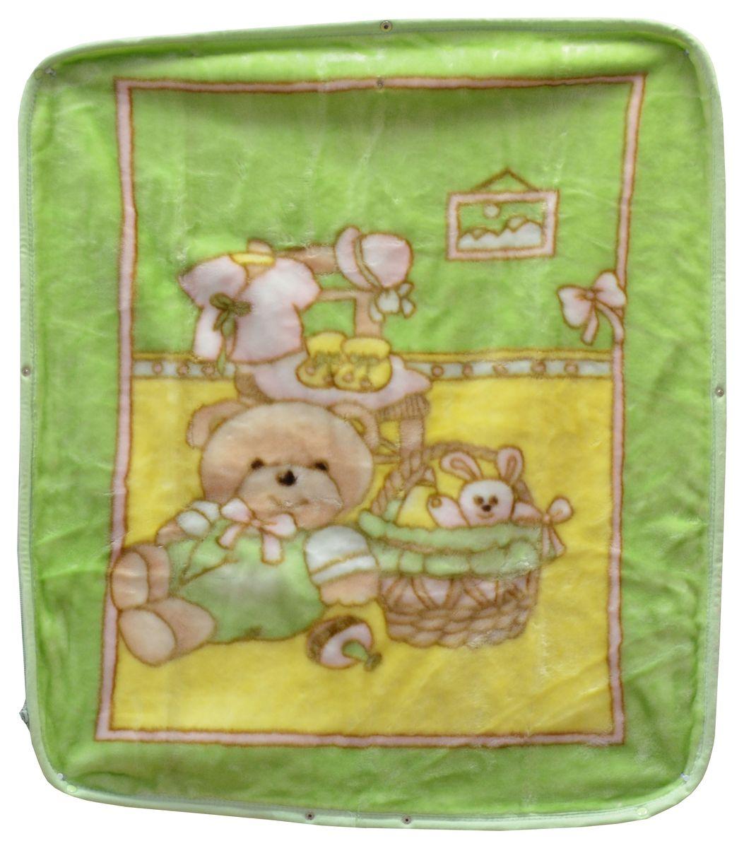 Bonne Fee Плед-накидка для младенцев на молнии 4, 80 х 90 см, цвет: зеленыйОНДК/300-зел4Плед-накидка для младенцев на молнии Bonne Fee - защита, тепло и комфорт для малышей - использован надёжный, качественный и мягкий материал! Удобство и спокойствие для родителей обеспечивается универсальностью пледа-накидки, конструкция которого позволяет ему легко превращаться в конвертик. Отличное качество и практичность! Любите своего ребёнка и дарите ему лучшее!
