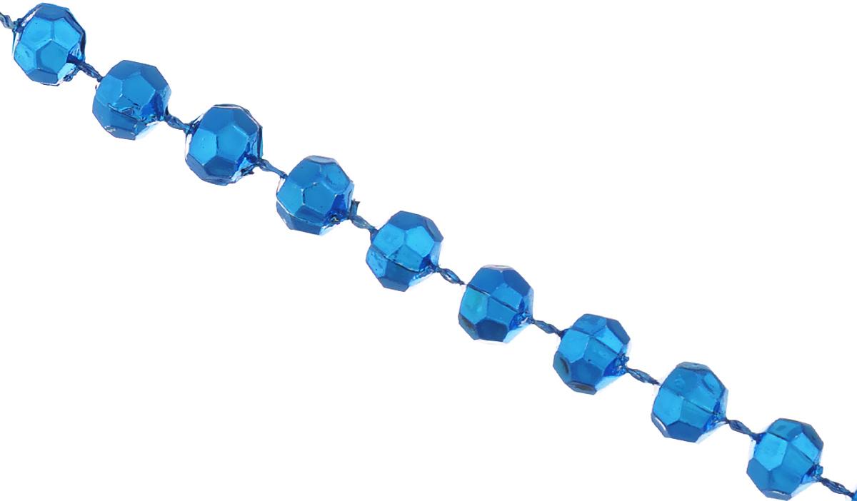 Новогоднее украшение Lunten Ranta Бусы. Граненые, цвет: синий, длина 2 м65649Новогоднее украшение Lunten Ranta Бусы. Граненые, изготовленные из высококачественного пластика, прекрасно подойдут для декора дома или новогодней ели. Новогодние бусы создают сказочную атмосферу и дарят ощущение праздника. Откройте для себя удивительный мир сказок. Почувствуйте волшебные минуты ожидания праздника, создайте новогоднее настроение вашим дорогим и близким.