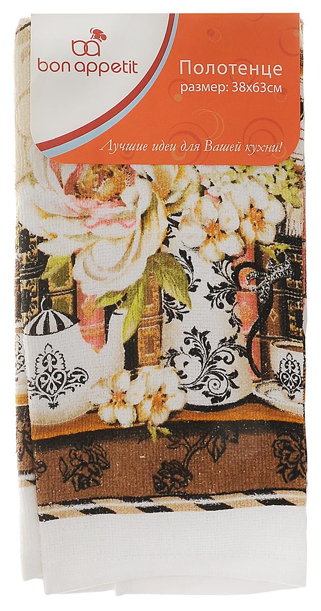Полотенце кухонное Bon Appetit Деко, цвет: белый, коричневый, 63 см х 38 смVT-1520(SR)Полотенце кухонное Bon Appetit Деко изготовлено из 100% хлопка, поэтому являетсяэкологически чистыми. Качество материала гарантирует безопасность не только взрослых, но исамых маленьких членов семьи. Изделие украшено оригинальным и ярким рисунком, оно впишется в интерьер любой кухни.Кухонные полотенца Bon Appetit идеально дополнят интерьер вашей кухни и создадут атмосферу уюта и комфорта.Размер полотенца: 63 см х 38 см.