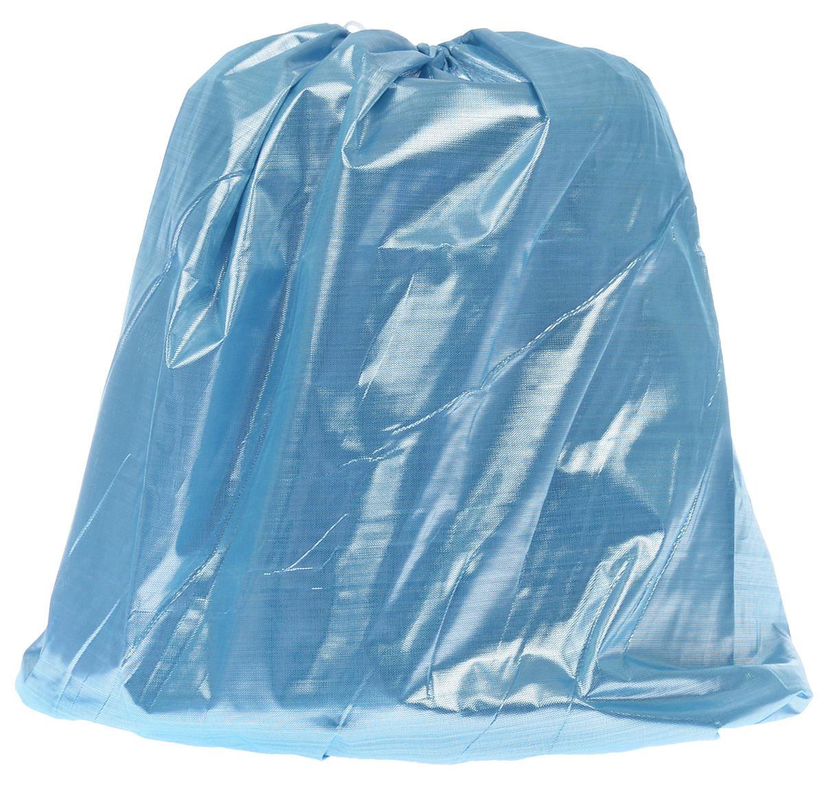 Покрывало под елку Eva, цвет: голубой, 105х45 смА092_голубойПокрывало Eva предназначено для декорирования нижней части ствола елки. Вы можете создать искусственный сугроб, украсив его мишурой, конфетти и подарками. Покрывало крепится с помощью завязок.