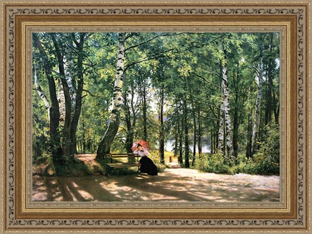 Около дачи. 1894 (И. И. Шишкин), 30 x 40 см30x40 26638012-417019Художественная репродукция картины И.И.Шишкинa Около дачи. Размер постера: 30 см x 40 см. Артикул: 30x40 26638012-417019.