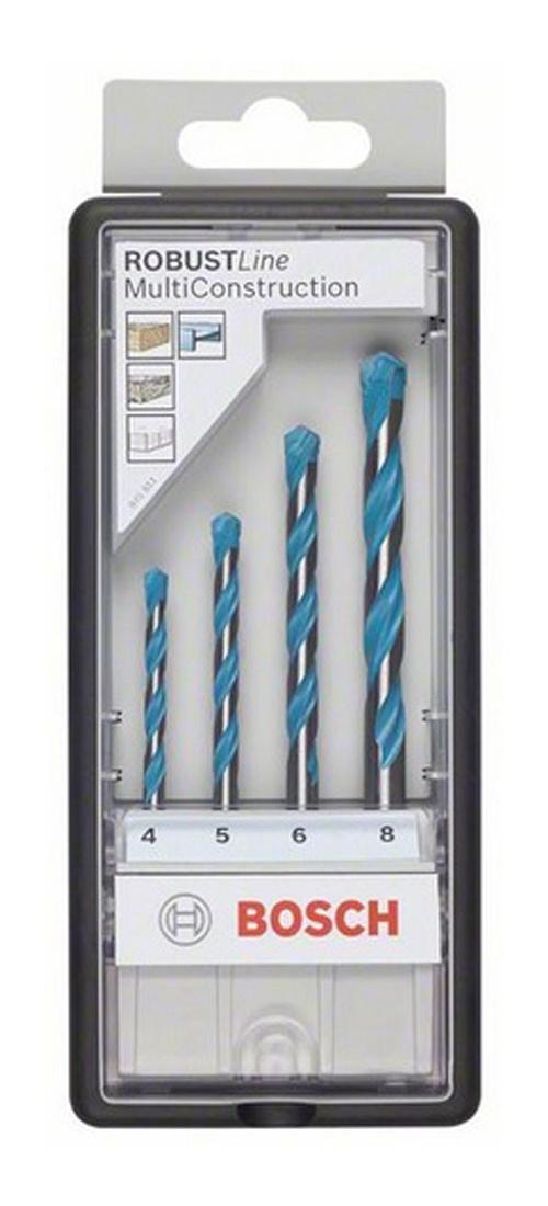 Набор универсальных сверл Bosch Robust Line CYL-9, 4 шт 2607010521