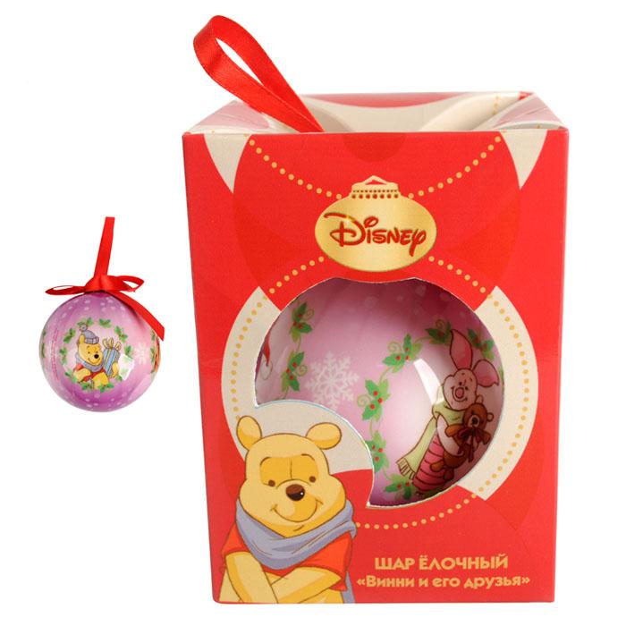Шар елочный Винни и его друзья, 7,5 см, пенопласт66357_1Шар елочный Винни и его друзья, выполненный из пенопласта, будет отличным подарком для ребенка, а так же прекрасным украшением новогодней ели.