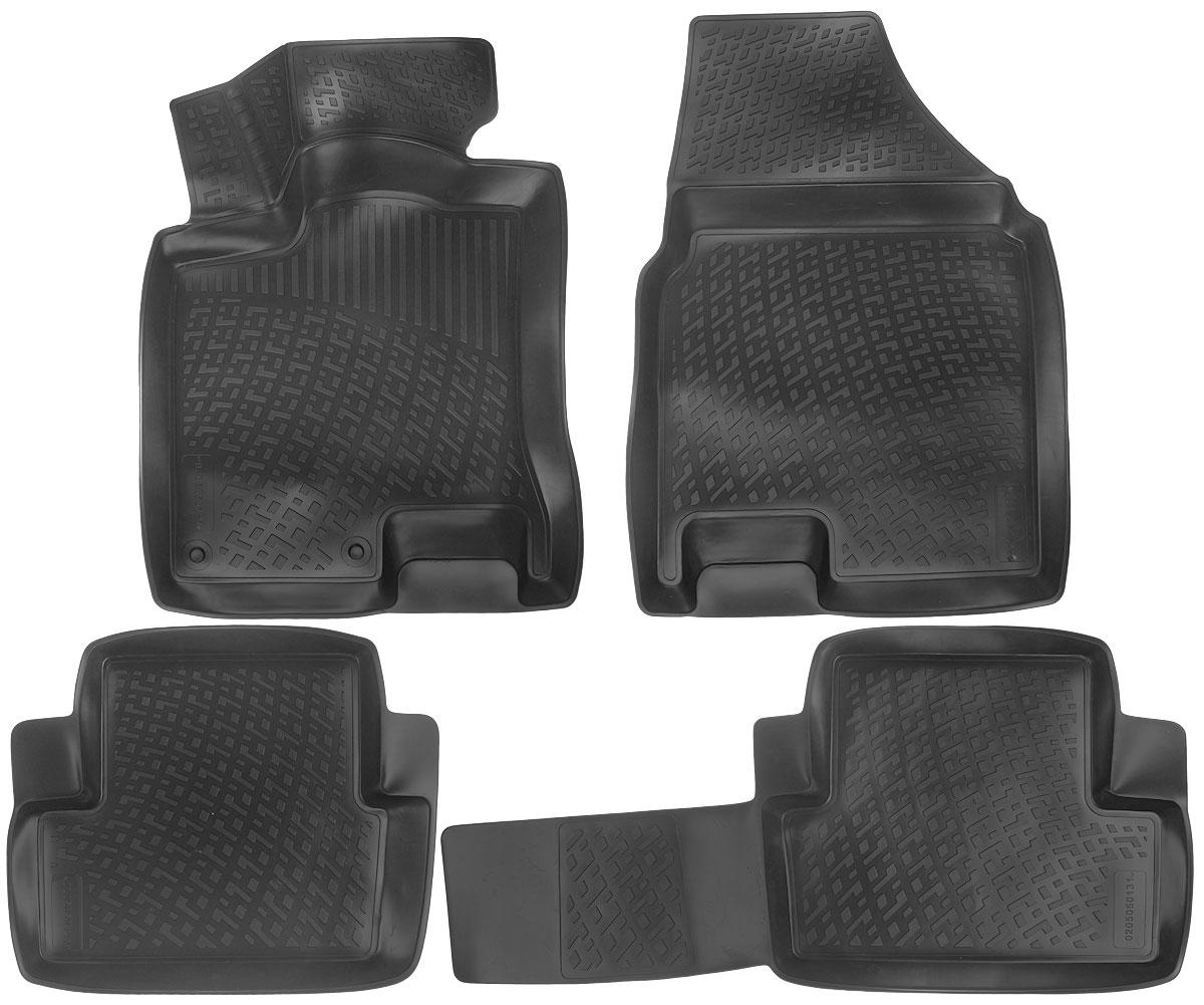 Набор автомобильных ковриков L.Locker Nissan Qashqai 2007, в салон, 4 шт0205050101Набор L.Locker Nissan Qashqai 2007, изготовленный из полиуретана, состоит из 4 антискользящих 3D ковриков, которые производятся индивидуально для каждой модели автомобиля. Изделие точно повторяет геометрию пола автомобиля, имеет высокий борт, обладает повышенной износоустойчивостью, лишено резкого запаха и сохраняет свои потребительские свойства в широком диапазоне температур от -50°С до +50°С. Комплектация: 4 шт. Размер ковриков: 74 см х 54 см; 97 см х 46 см; 55 см х 47 см; 78 см х 57 см.