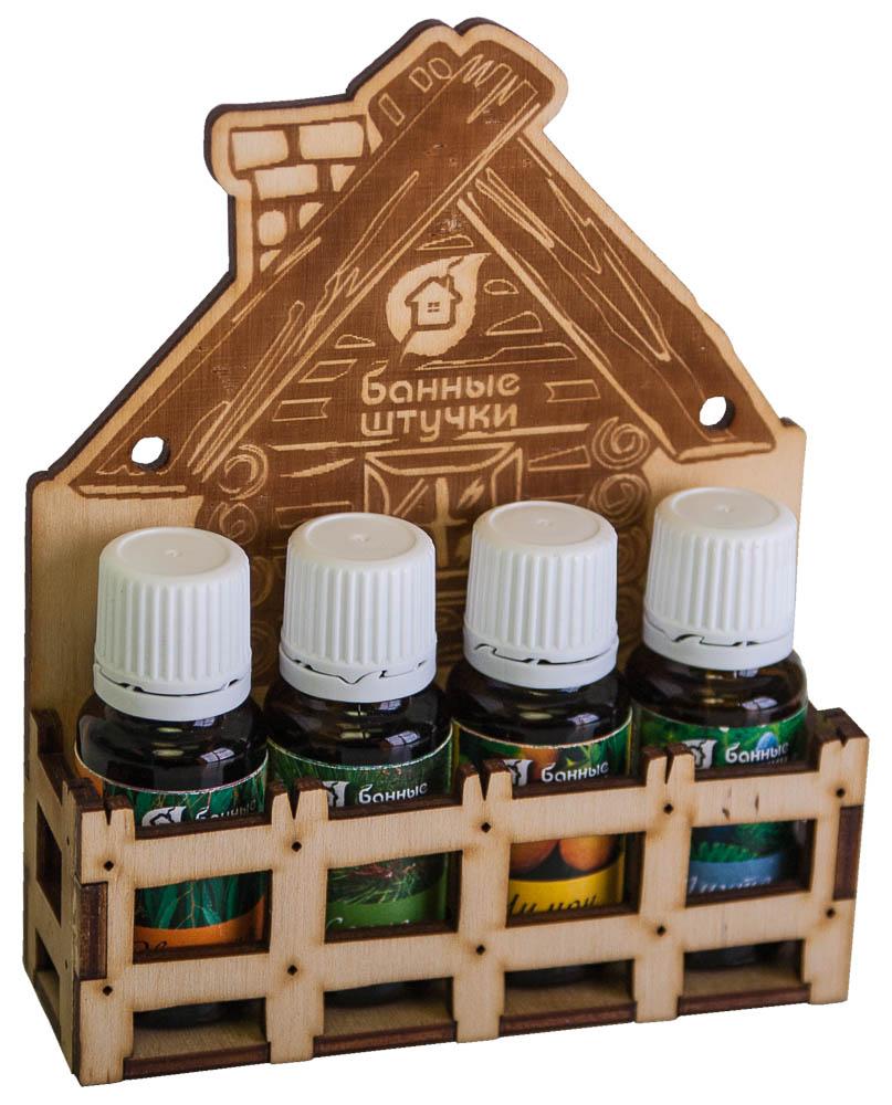 Набор эфирных масел Банька для бани и сауны, 4 х 15 мл33401Набор эфирных масел Банька содержит в себе натуральные эфирные масла лимона, эвкалипта, пихты и сосны. Масла предназначены для использования в бане и сауне, для обертывания и массажа. Эвкалипт способствует укреплению иммунитета, помогает в борьбе с кашлем и при других заболеваниях верхних дыхательных путей. Масло сосны обладает антисептическим, жаропонижающим, противопростудным, противовоспалительным, противокашлевым, обезболивающим, мочегонным, потогонным, общестимулирующим, дезодорирующим, тонизирующим, противоотёчным действием; как дополнительное средство его назначают при экземах, травмах, заболеваниях дыхательных и мочевыводящих путей, ринитах, синуситах, ОРВИ, ангине и астме. Лимон помогает при депрессии и бессоннице, снимает нервное напряжение, улучшает общее состояние организма, дарит заряд бодрости и энергии. Пихта обладает согревающим действием, способствует укреплению иммунитета, очищает и омолаживает...