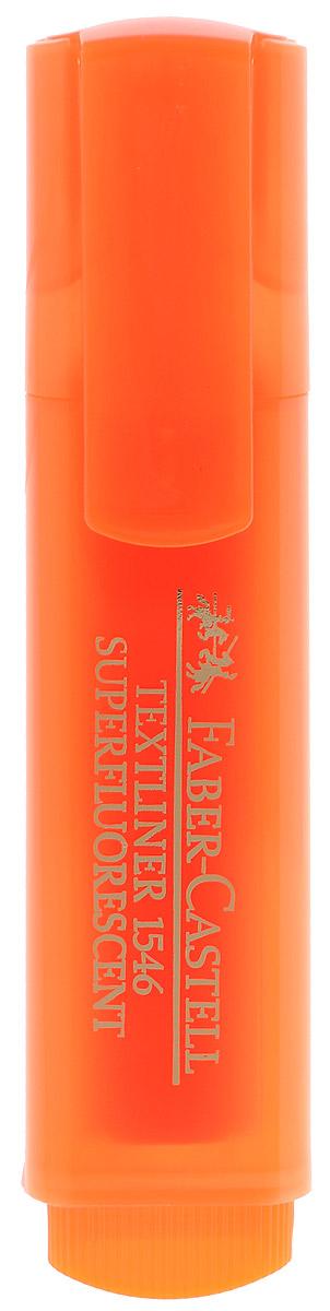 Faber-Castell Флуоресцентный текстовыделитель цвет оранжевый263288Флуоресцентный текстовыделитель Faber-Castell оранжевого цвета станет незаменимым предметом как на столе школьника, так и студента. Маркер с универсальными чернилами на водной основе идеален для всех видов бумаги. Линия маркировки шириной 5, 2 или 1 мм.