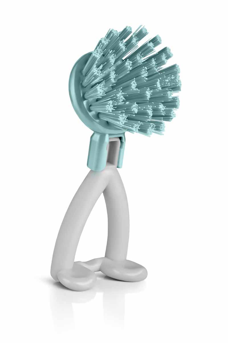 Щетка Идея Хозяюшка круглая зеленыйHOZ-01Щетка «Хозяюшка» отлично подходит для чистки грязных поверхностей. Она имеет жесткую щетину, что позволит Вам справиться с самыми стойкими загрязнениями. Благодаря оптимальному размеру и эргономичной ручке, щетка «Хозяюшка» станет незаменимым инструментом на Вашей кухне. Для наилучшего эффекта щетку необходимо использовать вместе с чистящими средствами, рекомендованными для поверхностей, которые Вы обрабатываете. Использование этого приспособления позволит Вам сэкономить время и силы. PP пластик