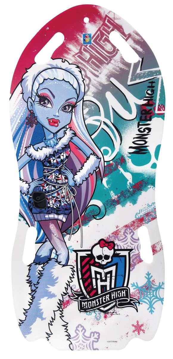 Ледянка «Monster High» (для двоих), 122 смUABLSEF20001Ледянка для двоих Monster High станет прекрасным подарком для поклонников популярного мультфильма. Изделие предназначено катания с горок и идеально подойдет для девочек. Ледянка развивает на спуске хорошую скорость. Модель с 2 парами прорезей для рук.