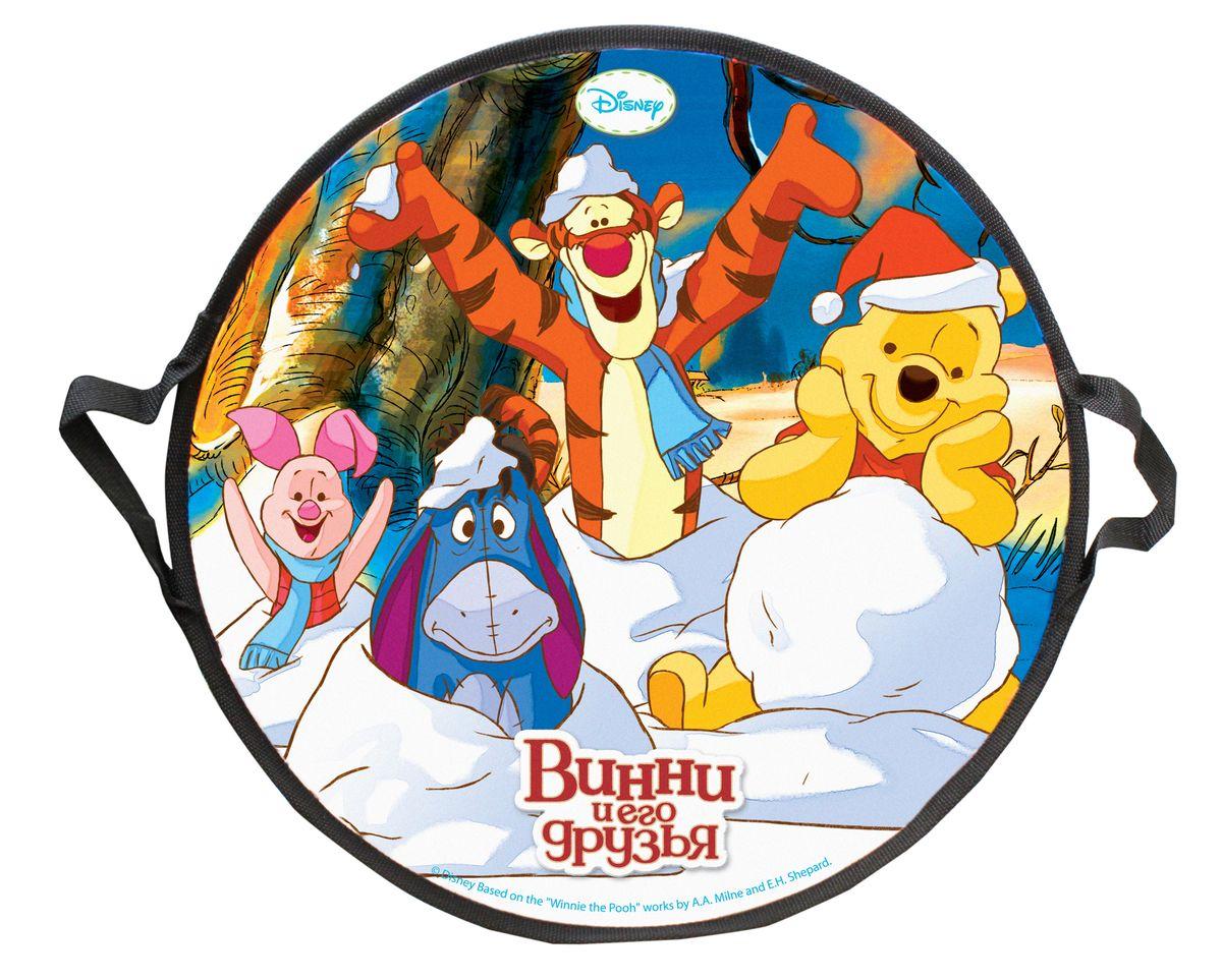Disney Винни-Пух Ледянка круглая Disney Винни-Пух 52 смХот ШейперсЛедянка Disney Винни-Пух станет прекрасным подарком для поклонников популярного мультфильма. Изделие предназначено катания с горок и идеально подойдет как для мальчиков, так и для девочек. Ледянка развивает на спуске хорошую скорость. Плотные ручки, расположенные по краям изделия помогут не упасть.