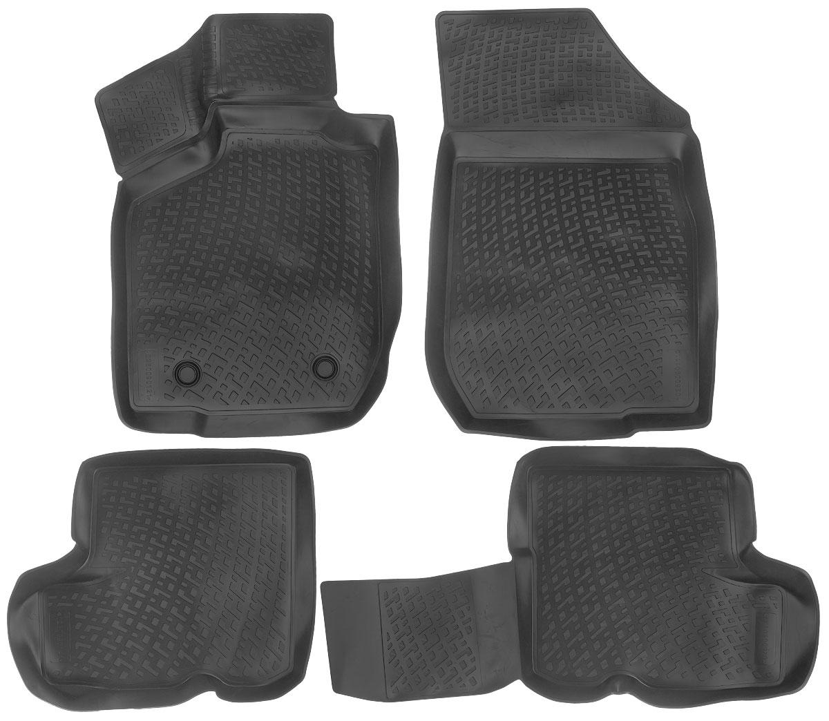 Набор автомобильных ковриков L.Locker Lada Largus 2012, в салон, 4 шт0280090101Набор L.Locker Lada Largus 2012, изготовленный из полиуретана, состоит из 4 ковриков, которые производятся индивидуально для каждой модели автомобиля. Изделие точно повторяет геометрию пола автомобиля, имеет высокий борт, обладает повышенной износоустойчивостью, лишено резкого запаха и сохраняет свои потребительские свойства в широком диапазоне температур от -50°С до +80°С. Комплектация: 4 шт. Размер ковриков: 81 см х 56 см; 81 см х 56 см; 91 см х 50 см; 50 см х 57 см.