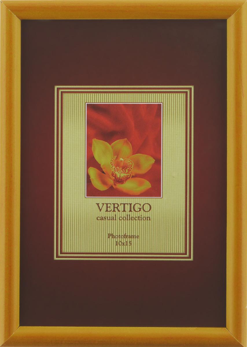 Фоторамка Vertigo Veneto, цвет: светло-коричневый, 10 х 15 см12179 WF-019/179Фоторамка Vertigo Veneto выполнена из дерева и стекла, защищающего фотографию. Оборотная сторона рамки оснащена специальной ножкой, благодаря которой ее можно поставить в любое удобное место в доме или офисе. Также изделие оснащено специальными отверстиями для подвешивания на стену. Такая фоторамка поможет вам оригинально и стильно дополнить интерьер помещения, а также позволит сохранить память о дорогих вам людях и интересных событиях вашей жизни.