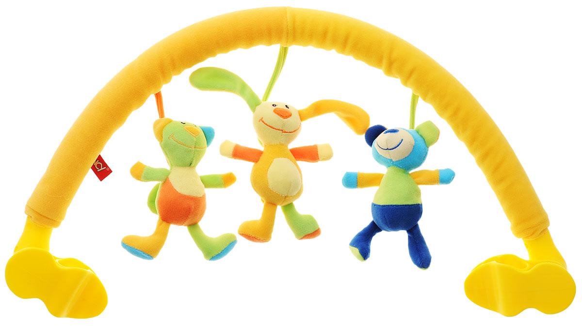 Расти малыш Развивающая дуга Веселые друзья PKL1\M