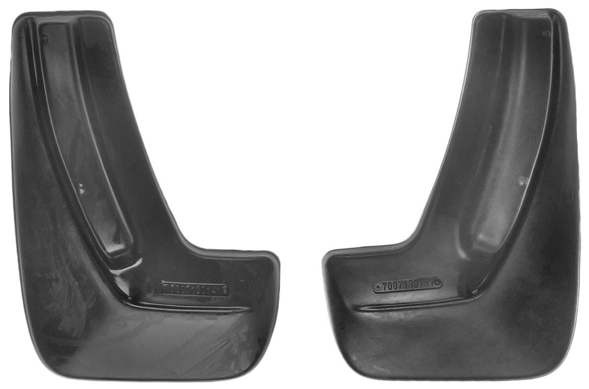 Комплект задних брызговиков L.Locker, для Chevrolet Cobalt sd (12-), 2 шт7007130161Комплект L.Locker состоит из 2 задних брызговиков, изготовленных из высококачественного полиуретана. Уникальный состав брызговиков допускает их эксплуатацию в широком диапазоне температур: от -50°С до +50°С. Изделия эффективно защищают кузов автомобиля от грязи и воды, формируют аэродинамический поток воздуха, создаваемый при движении вокруг кузова таким образом, чтобы максимально уменьшить образование грязевой измороси, оседающей на автомобиле. Разработаны индивидуально для каждой модели автомобиля. С эстетической точки зрения брызговики являются завершением колесных арок. Установка брызговиков достаточно быстрая. В комплект входят необходимые крепежи и инструкция на русском языке. Комплект подходит для моделей с 2012 года выпуска. Комплектация: 2 шт. Размер брызговика: 31,5 см х 22,5 см х 3 см.