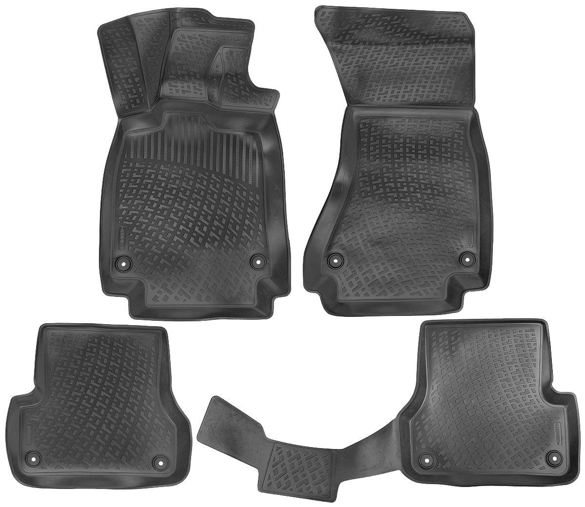 Набор автомобильных ковриков L.Locker Audi A6 IV 2014-0200040601Набор L.Locker Audi A6 IV 2014-, изготовленный из полиуретана, состоит из 4 антискользящих ковриков, которые производятся индивидуально для каждой модели автомобиля. Изделие точно повторяет геометрию пола автомобиля, имеет высокий борт, обладает повышенной износоустойчивостью, лишено резкого запаха и сохраняет свои потребительские свойства в широком диапазоне температур от -50°С до +50°С. Комплектация: 4 шт. Размер ковриков: 89 см х 56 см; 55 см х 51 см; 109 см х 49 см; 89 см х 57 см.