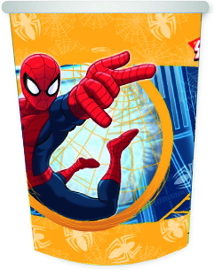 Стакан бум Marvel Челов-Паук 250мл 6шт/G