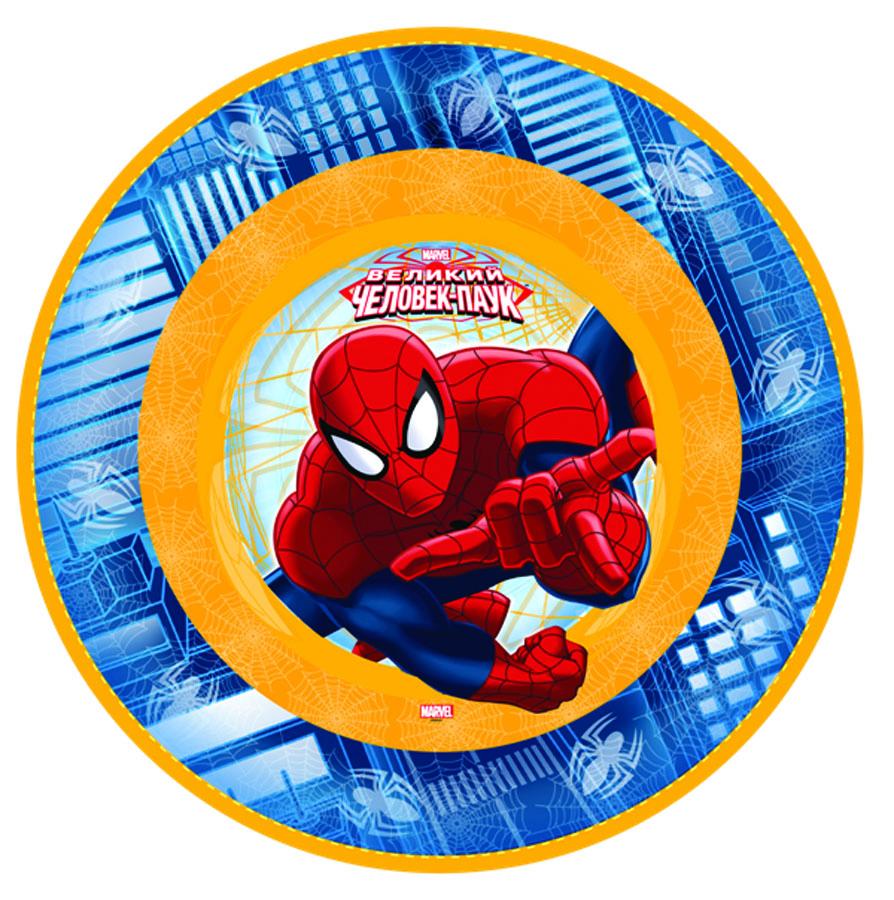 Тарелка бум Marvel Челов-Паук 17см 6шт/G