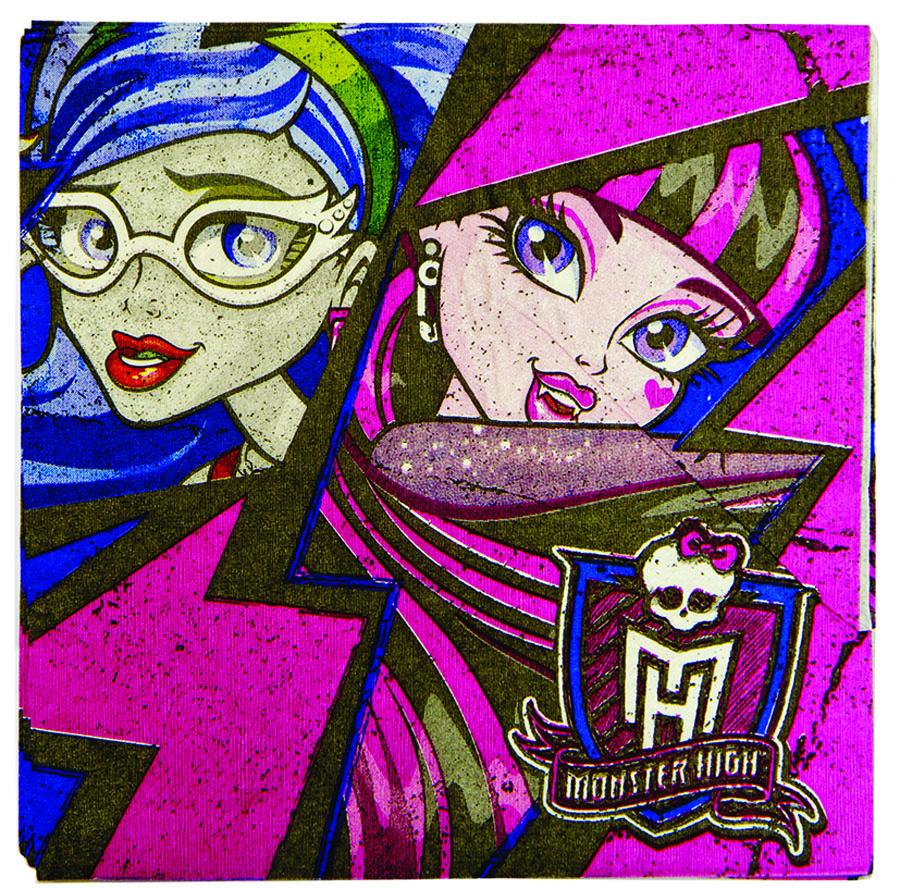 Amscan Салфетка Monster High 16 шт