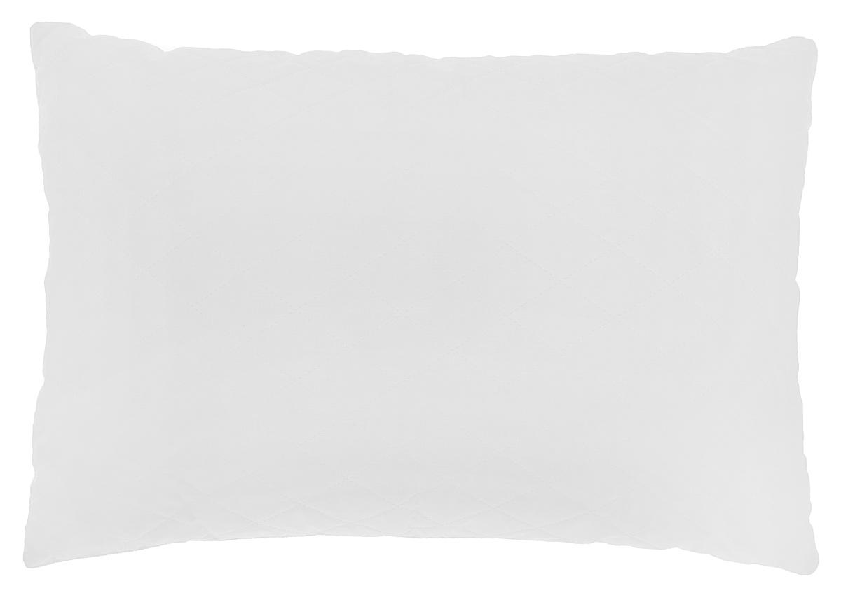 Подушка Подушкино Снежана, наполнитель: экофайбер, цвет: белый, 50 х 72 см17102028Подушка Подушкино Снежана создаст комфорт и уют во время сна. Чехол выполнен изхлопка и полиэстера. Внутри - экофайбер. Подушка с экологически чистым заменителем пуха - экофайбером - не вызывает аллергии, надолго сохраняет упругость и первоначальную форму. Подушка снабжена потайной молнией, с помощью которой вы сможете отрегулировать объем по собственному вкусу. Размер подушки: 50 см х 72 см.Состав чехла: 70% хлопок, 30% полиэстер.Наполнитель: экофайбер (100% полиэстер).