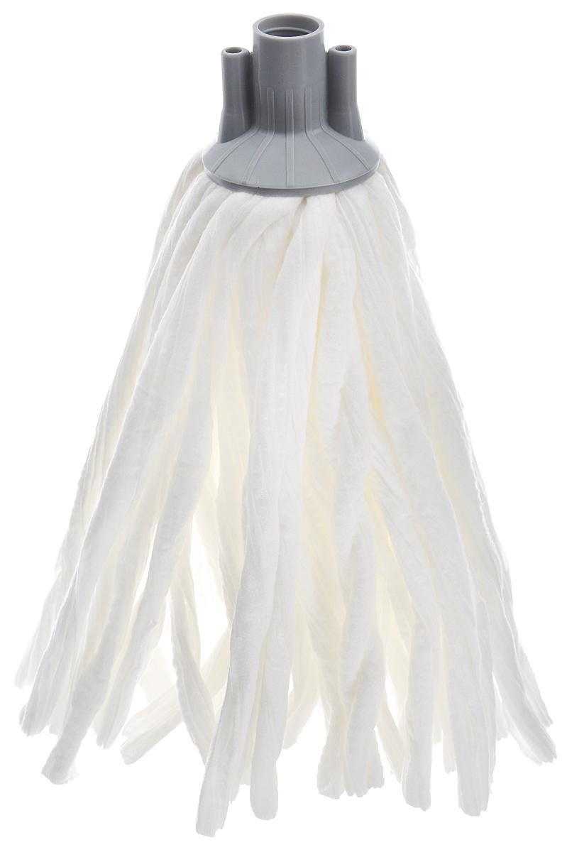 Насадка сменная Apex Girello Eco, для швабры, цвет: белый, серый10539-A_серыйСменная насадка Apex Girello Eco для швабры станет незаменимым атрибутом любой уборки. Она выполнена из синтетической ткани, которая обладает супер-впитывающими свойствами и улучшенной очищающей способностью. Идеально подходит для любого типа поверхностей и может использоваться с любыми моющими средствами, в том числе отбеливателем. Насадку можно стирать при температуре 40°С. Длина ворса: 26 см.