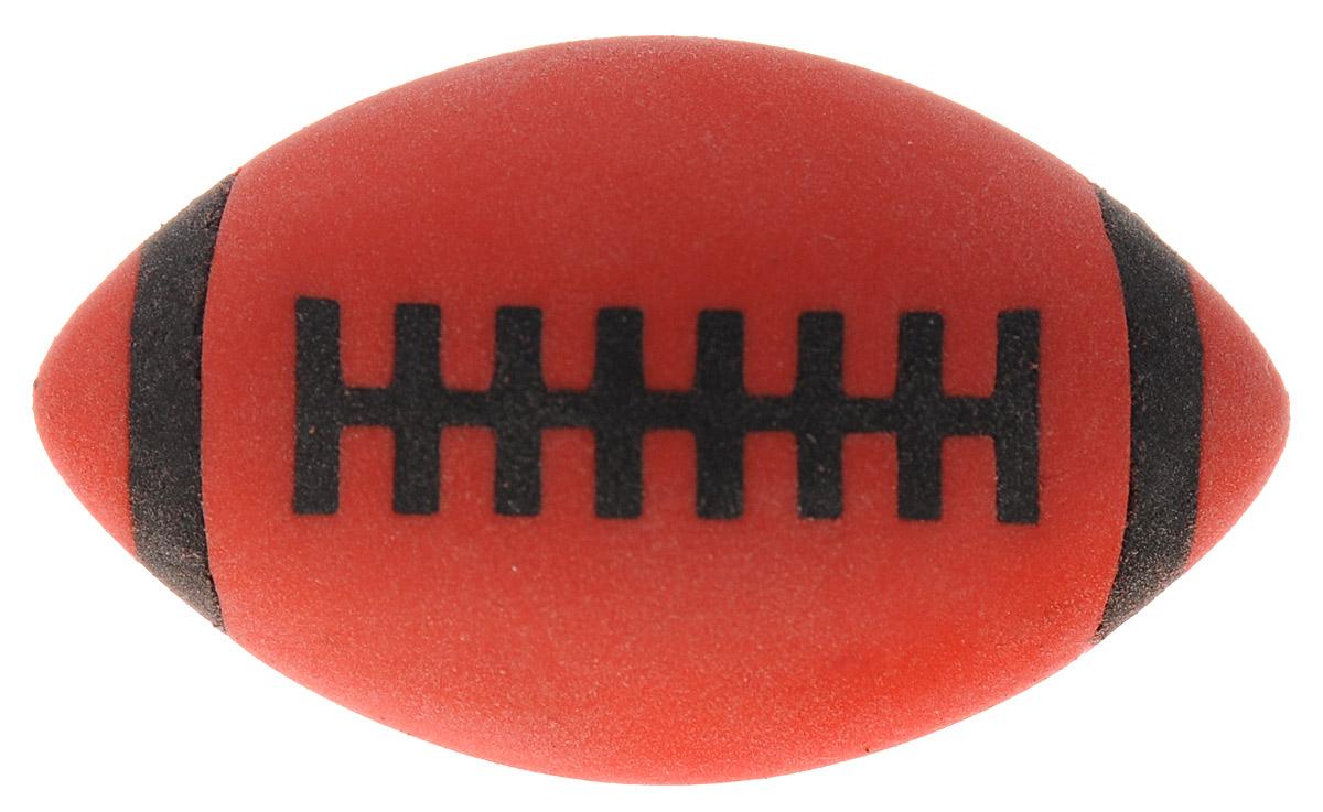 Brunnen Ластик Мяч для регби цвет красный72523WDЛастик Brunnen Мяч для регби станет незаменимым аксессуаром на рабочем столе не только школьника или студента, но и офисного работника. Он легко и без следа удаляет надписи, сделанные карандашом. Ластик имеет форму и окраску в стиле мяча для регби, поэтому его очень удобно держать в руке.