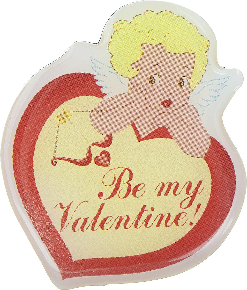 Магнит Феникс-презент Be My Valentine!, 6 x 5 см декоративный подсвечник be my valentine со свечой цвет голубой 31306